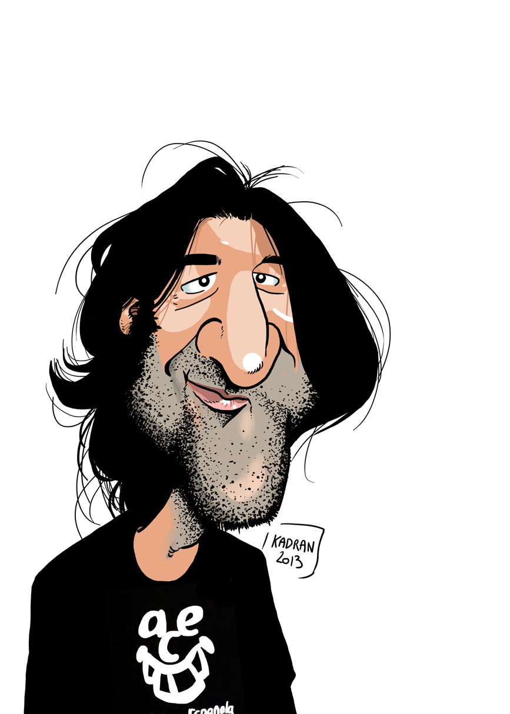 Caricature de David Duque ( caricaturiste - ESPAGNE - Ségovie ) http://david-duque.blogspot.com/