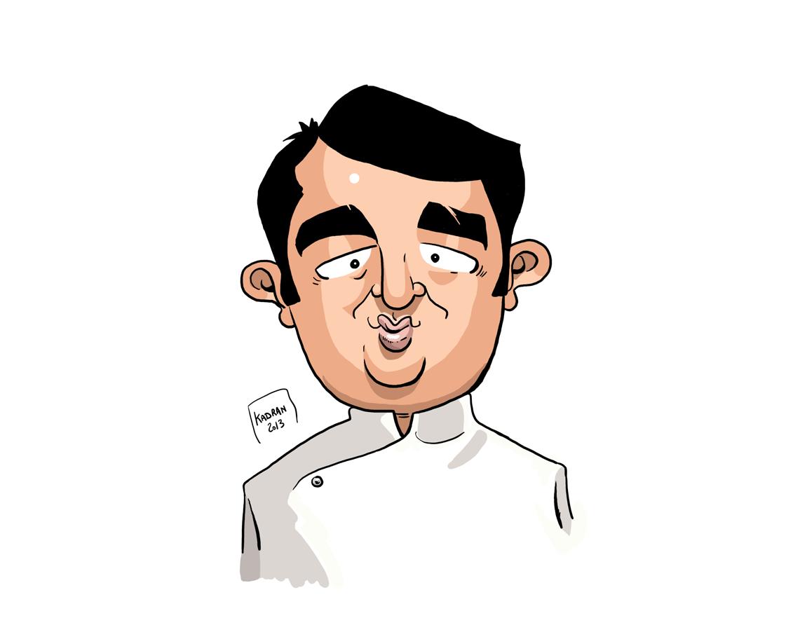 Chef Jean-François Piège