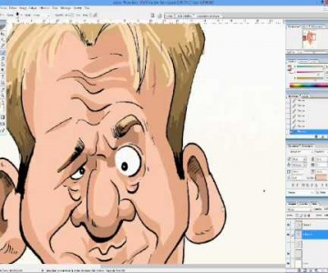 Making off, caricature de Gordon Ramsey
